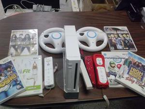Nintendo Wii Original + Juegos Y Accesorios