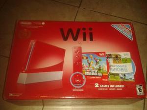 Nintendo Wii Rojo Edición 25 Aniversario