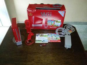 Nintendo Wii Rojo Edición 25° Aniversario
