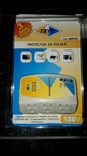 Protector De Voltaje 3 Tomas Equipos Equipos Electronicos