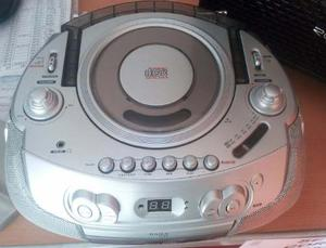 Radio Gris Daily Portable Stereo Radio Vcd/cd Mp3