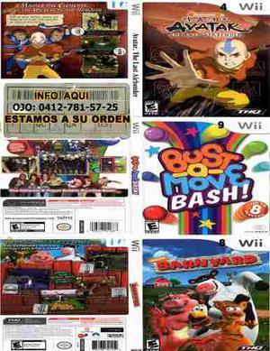 Vendo Combo #1 De 20 Juegos Para Nintendo Wii