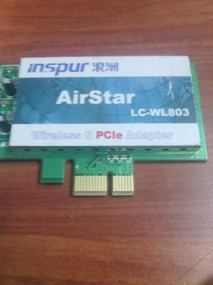 Vendo Tarjeta de Red WiFi PCI Express INSPUR AirTec LCWL803