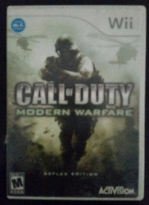 Video Juego Call Of Duty- Modern Warfare, Para Nintendo Wii