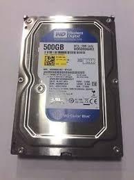 Disco Duro 500 Gb Sata Western Digital
