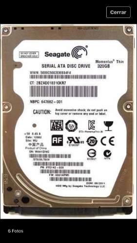 Disco Duro Laptop De 320 Gb Sata Precio En 250 Mil