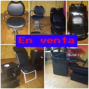 Vendo mobiliario para peluqueria
