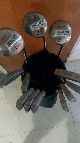 Palos De Golf Avalon 12 En Total Con Bolsa Y Pelotas