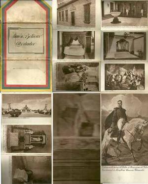 Postales Simon Bolivar El Libertador