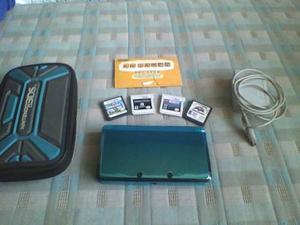 Vendo Nintendo 3ds Con 4 Juegos Originales