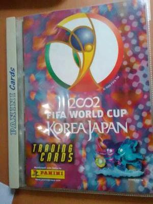 Album De Barajitas Mundial De Fútbol Japón-corea