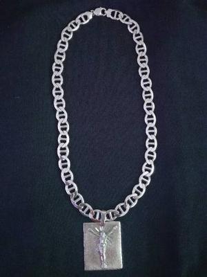 3563da5bf69e Bella cadena de plata gruesa 925