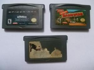 Combo De Juegos De Game Boy Advance
