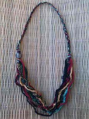 Hermosos Collares Tejidos En Crochet