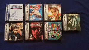 Juegos De Gameboy Advance Cons Sus Cajas Y Manuales