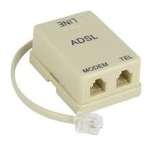 Micro Filtro Telefono Adsl Rj11 Para Aba Y Punto De Venta