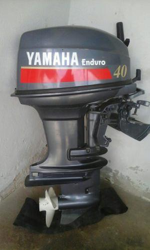 Motor fuera de borda yamaha enduro 40 hp robocop posot class for Fuera de borda yamaha