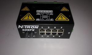 Moxa Switch 8 Puertos Sin Fibra Optica Ethernet Industrial