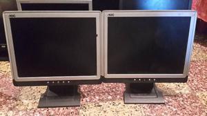 Pequeño Lote De Monitores Usados De 15 Pulgadas Impecables