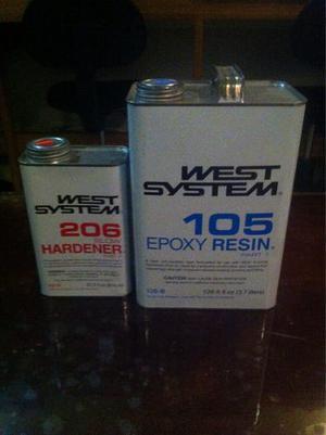Resina Epoxica 105 Y Catalizador 206 West System