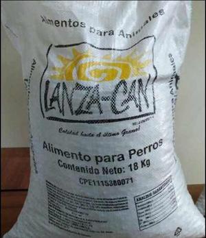 Saco De Perrarina Lanzaca 18kg