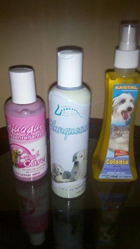 Shampoo, Enjuague, Colonia Para Perros! Combo (oferta)