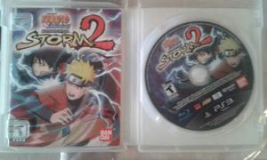 Juego De Ps3. Naruto Storm 2