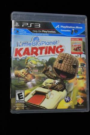 Ps3 Juego De Video Little Big Planet Karting Original