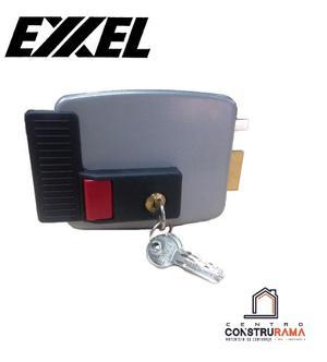 Cerradura Electrica Sobreponer Exxel 12v Puerta Metal Madera