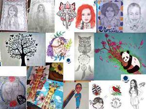Dibujos, Retratos, Logos Y Mas