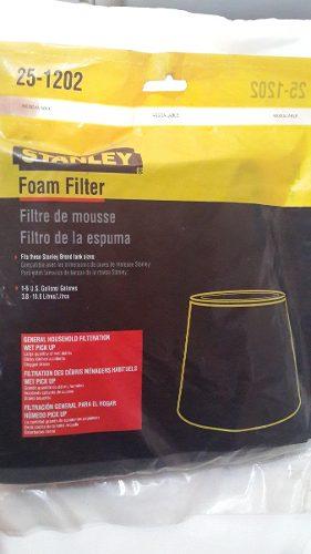 Filtro De Goma Espuma Para Aspiradoras Stanley