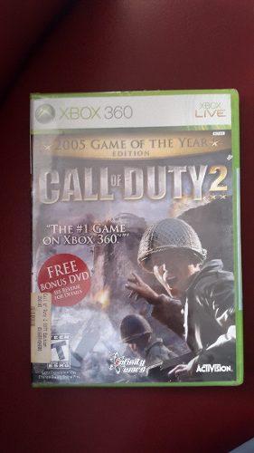 Juego Xbox 360 Call Of Duty2 Caracas Maracay Valencia