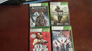Juegos De Xbox 360 Usados En Perfectas Condiciones