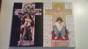 Manga Original Death Note Tomo 1 - 2 (inglés) Shonen Jump