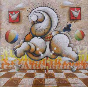 Obras De Arte Originales De Roger Rodriguez Pequeños
