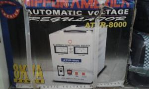 Regulador De Voltage Atvr  Marca Nipon America