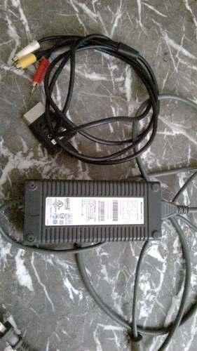 Regulador De Xbox 360 Y Cable De Video