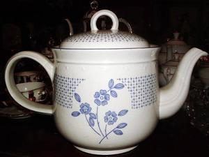 Tetera De Porcelana Staffordshire Kilncraft Made In England