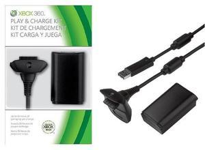 Xbox 360 Play Y Kit De Carga