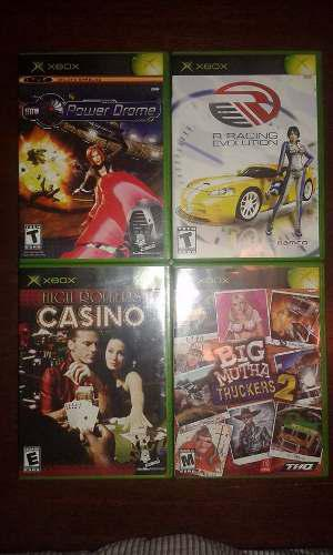 4 Juegos Xbox En Buen Estado