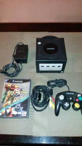 Excelente Nintendo Game Cube Negro, Control, Juego Original