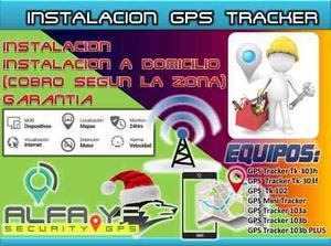 Gps Tracker Instalacion+configuracion+plataforma Web