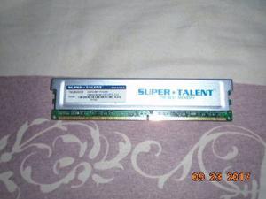 Memoria Ram Ddr2 2gb Marca Super Talent