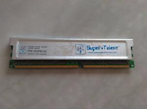 Memoria Ram Super Talent 2gb