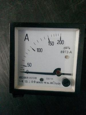Amperimetro Analógico  A