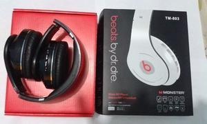 Audífonos Beats Inalámbricos Mp3 Y Fm