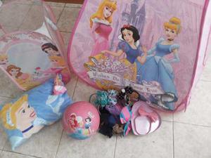 Combo De Las Princesas Disney(carpa, Cojin,pelota,cesta...)