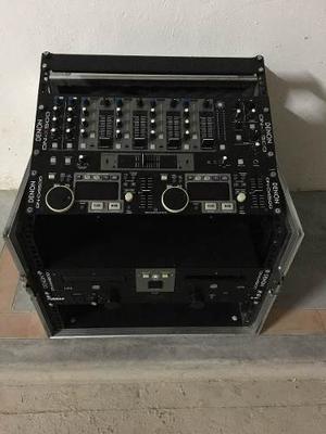 Consola De Sonido Profesional, Rack Completo Para Dj.