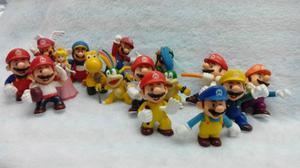 Figuritas De Mario Bros Peq.