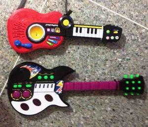 Guitarra Musical - Electrónica De Juguete